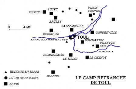 Fort Tillot - Plan de situation