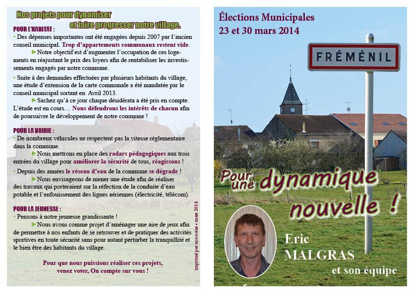 Mot Cle Municipales2014 Fremenil Un Village Lorrain